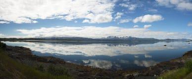 Norge no.17 väg Royaltyfri Foto