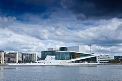 Norge - Oslo opera Arkivbilder