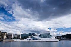 Norge - Oslo opera royaltyfria foton