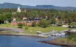 Norge Oslofjord royaltyfri bild