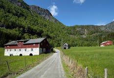 Norge Sogn og Fjordane, Skolden royaltyfri foto