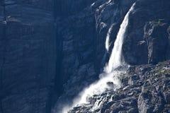 Norge - vattenfall arkivbilder