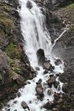 Norge vattenfall Arkivbild