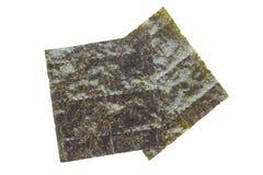 Nori , Japanese edible seaweed Royalty Free Stock Photo