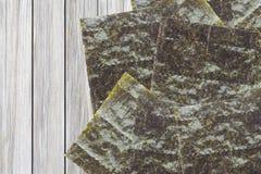 Nori , Japanese edible seaweed Royalty Free Stock Photography