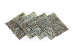 Nori , Japanese edible seaweed Royalty Free Stock Image