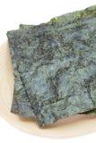 Nori , Japanese edible seaweed Stock Photos