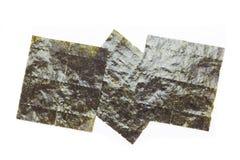 Nori, Japans eetbaar zeewier stock afbeeldingen