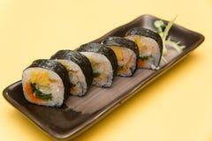 NORI MAKI SUSHI, JAPANESE FOOD Royalty Free Stock Images