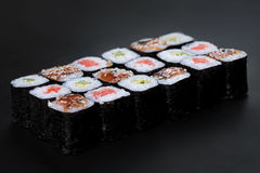 Nori rolls Royalty Free Stock Images
