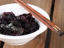 Nori Seaweed – Alga Nori. Edible seaweed of the red algae. Binomial name: Porphyra Umbilicalis. It is used in dried sheets to wrap the sushi stock photos
