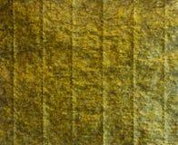 Nori Seaweed Sheet Textute verde fotografia de stock royalty free