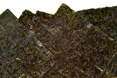 Nori seaweed sheet Stock Photo