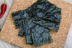 Nori seaweed sheets Royalty Free Stock Photo