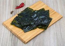 Nori seaweed sheets Royalty Free Stock Image