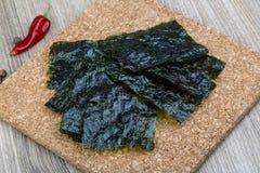 Nori seaweed sheets Stock Photo
