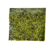 Nori sheets. Isolated on white background royalty free stock images