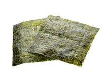 Nori sheets. Isolated on white background royalty free stock photo