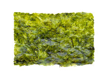 Nori sheets. Isolated on white stock photography