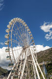 Noria in Andorra la Bella. It´s a vertical picture on a sunny day Royalty Free Stock Photo