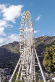Noria in Andorra la Bella. It´s a vertical picture on a sunny day Royalty Free Stock Image