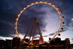 Noria de Las Vegas Imagen de archivo libre de regalías