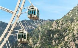 Noria en el la Bella de Andorra Fotos de archivo