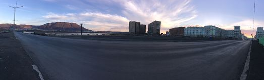 Norilsk στοκ φωτογραφία με δικαίωμα ελεύθερης χρήσης