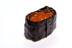 Norimaki saumoné d'oeufs de poisson Photo stock