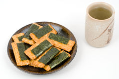 Norimaki-senbei Royalty Free Stock Photo