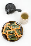 Norimaki-senbei Royalty Free Stock Photography
