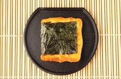 Norimaki senbei Fotografia Stock