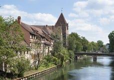 Norimberga in Baviera Fotografia Stock Libera da Diritti