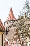 Norimberga storica Fotografie Stock Libere da Diritti