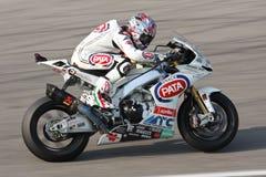 Noriyuki Haga - Aprilia RSV4 Factory - PATA Racing Royalty Free Stock Images