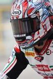 Noriyuki Haga - Aprilia RSV4 Factory - PATA Racing Royalty Free Stock Photo