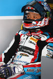 Noriyuki Haga #41 on BMW S1000 RR with Grillini DENTALMATIC SBK Team WSBK Royalty Free Stock Photography