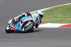 Noriyuki Haga #41 on BMW S1000 RR with Grillini DENTALMATIC SBK Team WSBK Stock Image