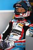 Noriyuki Haga #41 em BMW S1000 RR com a equipe WSBK de Grillini DENTALMATIC SBK Fotografia de Stock Royalty Free