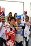Noriyuki Haga en de gebeurtenis van REGIS Laconi WDW 2010 Stock Afbeelding