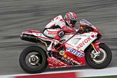 Noriyuki Haga SBK Ducati Royalty Free Stock Photography