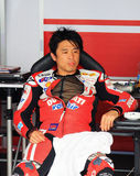 Noriyuki Haga at the World Ducati Week 2010 event royalty free stock photo