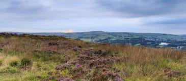 Norland moor West Yorkshire, UK. Stock Image