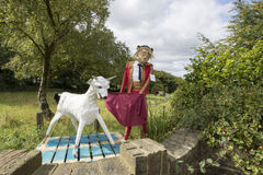 Norland Scarecrow Festival Royalty Free Stock Photos
