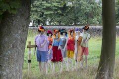Norland strach na wróble festiwal Obrazy Stock