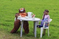 Norland strach na wróble festiwal 2016 Obraz Stock