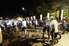 Norm gecharterde marathon Bnagkok Royalty-vrije Stock Foto's