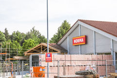 Norma construction Stock Image