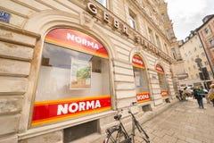 Norma discounter Stock Image