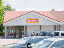 Norma discounter Royalty Free Stock Photography